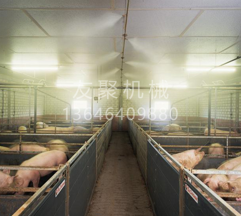 济宁养殖场自动喷雾消毒设备