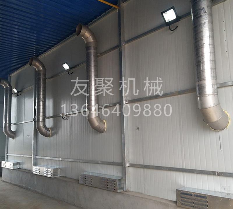 济宁猪场运输车辆高温消毒房