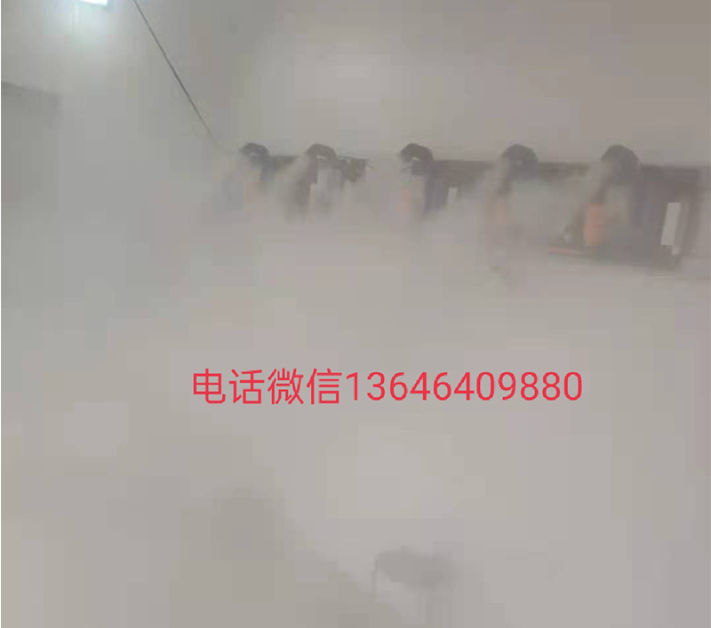 人员雾化消毒设备